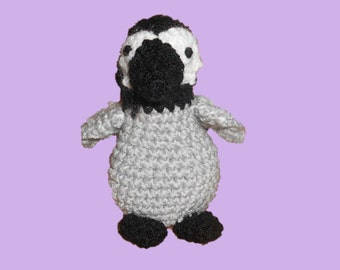 Percy the Penguin - Crocheted Penguin - Amigurumi Penguin Hand Crochet
