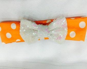 Orange Sherbet Headwrap