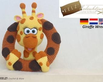 Giraffe Wreath - Crochet Pattern