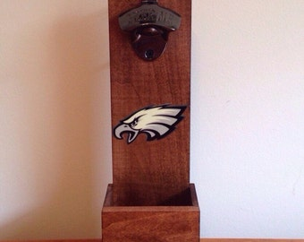 Wall Mounted Bottle Opener - Philadelphia Eagles