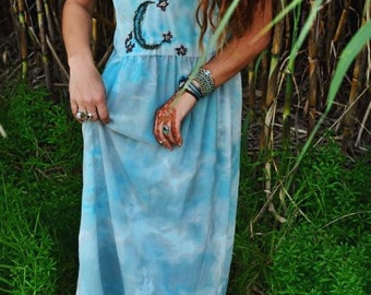 Ethereal Starry Night Dress