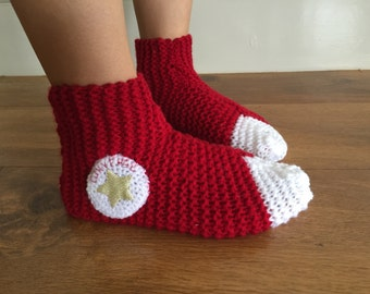 Comfortable knitted socks (size 15-20cm)