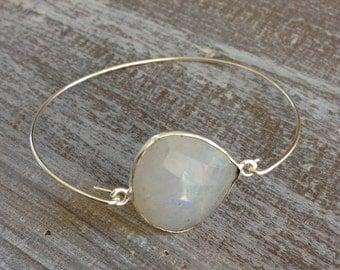 Bracelet silver Moonstone