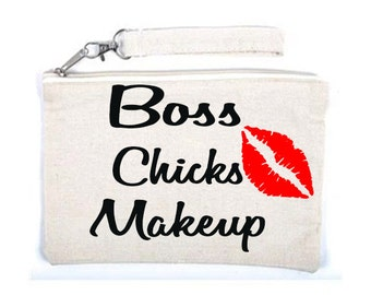 Boss Chicks Makeup Cosmetic Bag