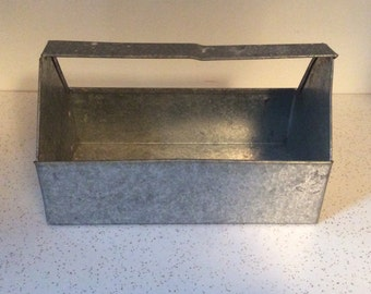 Metal Carrying Box With Handle