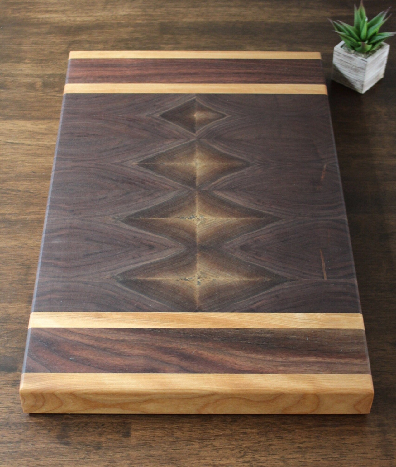end grain walnut cutting board butcher block serving. Black Bedroom Furniture Sets. Home Design Ideas