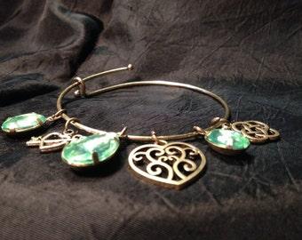 Celtic Inspired Charm Bracelet