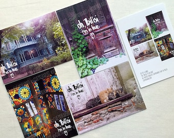 oh, Tbilisi, I'm in love | postcards set