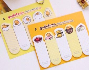Gudetama Lazy Egg Sticky Note, Adhesive Note - STK041