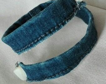 Denim 02-Wrap bracelet