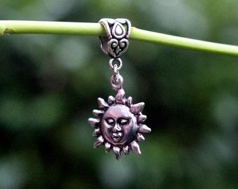 Dread and hair jewelry ~ sun