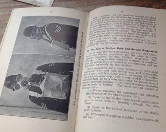 1938 Air Raid Precaution Handbook No 1 Protection Against Gass