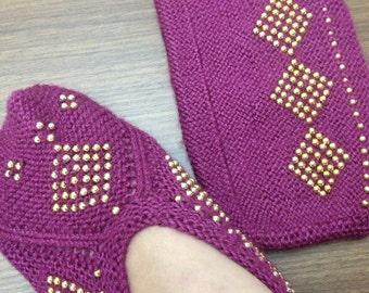 Socks hand made