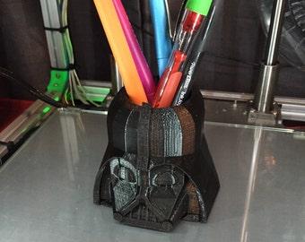 3D Printed Darth Vader Pen Holder Cup