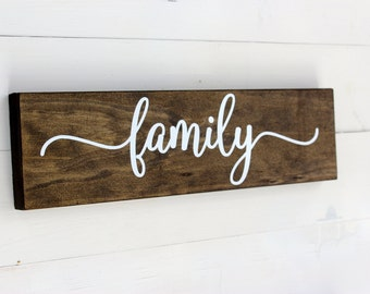 Family Sign | Rustic Home Decor | Entryway | Wall Sign | Wooden Sign | Gift under 25 | Follow Your Arrow | Rustic Sign | Housewarming