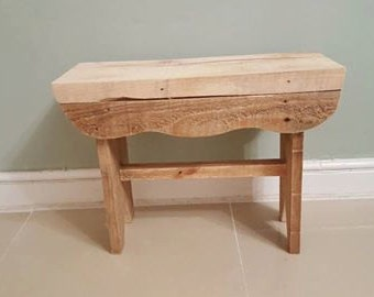 Handmade milking stool