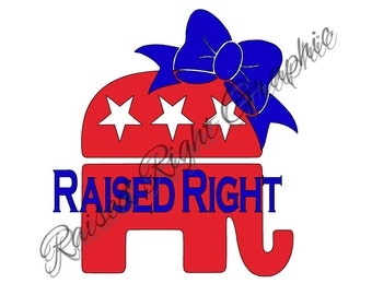Republican Decal for Car/Laptop/Phone/Tablet/Notebook