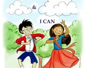 I Am & I Can poetry activity book