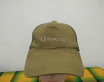 Rare Vintage HANG TENG Cap Hat Free size fit all