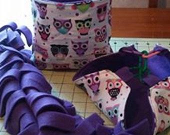 Purple Owl Mini Set