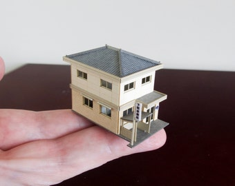 Architectural Model of a Japanese Medical Clinic in 1/220 scale