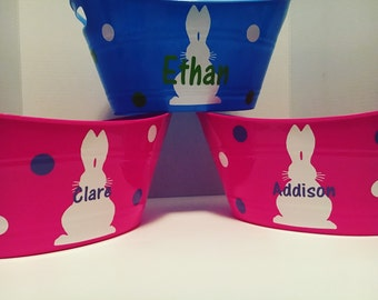 Personalized Easter Baskets for the Kids
