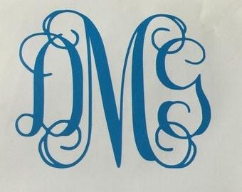 Monogram Decal