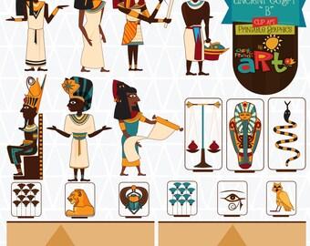 Ancient Egypt B Clip Art Printable Graphics Collection