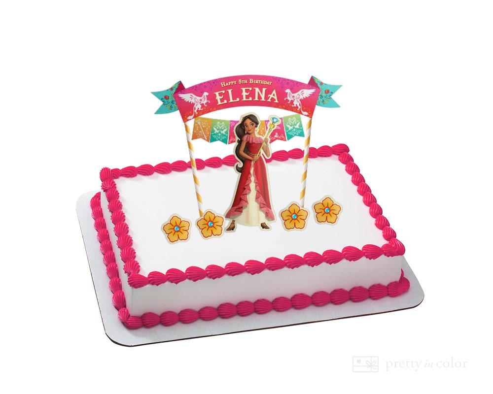 Elena Cake Topper