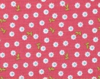 Riley Blake Designs Summer Song 2 Pink Flower by Zoe Pearn C 4625