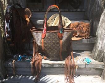 Vintage Swag Boho-style Shopping Sac