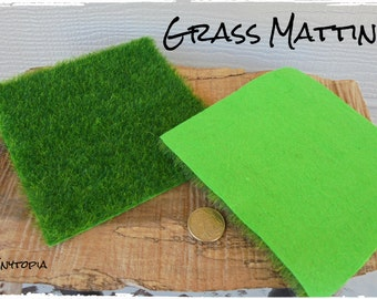 Fairy Garden Grass Matting