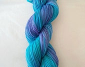 Sea Iris - 4ply sock yarn