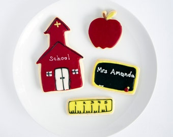 School Teacher Cookies