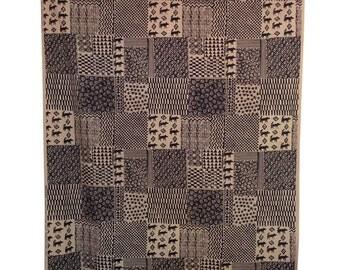 Vintage curtain designed by Anneli Airikka-Lammi titled Sulevi