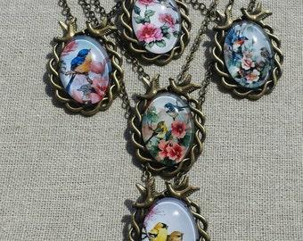Beautiful bird necklace