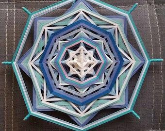 "Mandala Ojo de Dios ""Chakra project - Blue"""