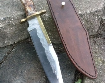 Custom bowie knife