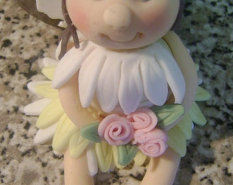 Edible sugar paste fairy cake topper,birthday,boy,girl,cake decoration,