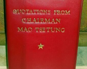 Chairman Mao, Quotations from Chairman Mao Tsetung, Authentic Communist Propaganda (1976)