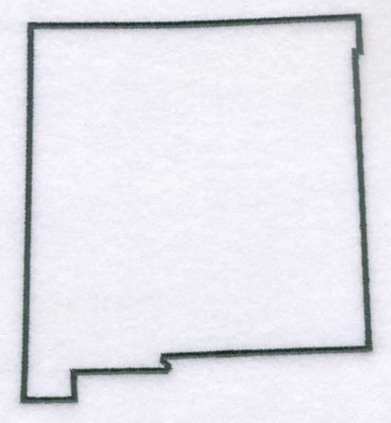 New Mexico Stencil Made From 4 Ply Mat By Woodburnsnewengland