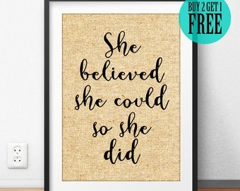 And so, the adventure begins, Burlap Print, Typography Print, Inspirational Print, Motivational Print, Quote Decor, Graduation Gifts, SD64