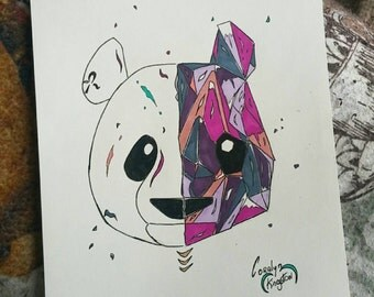 Panda & Crystal gem