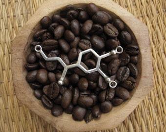 Silver necklace 925 - Molecule of the adrėnaline
