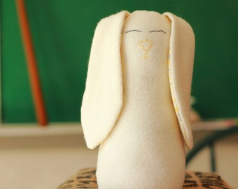 Marigold, the plush bunny -- stuffed rabbit toy