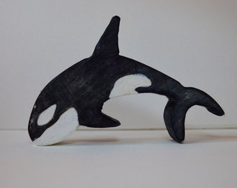 Wooden Orca