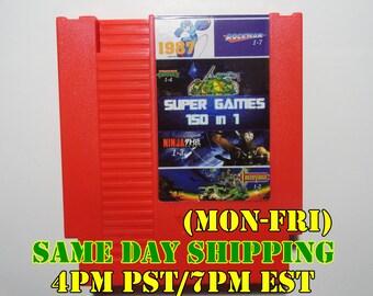 150 in 1 NES Nintendo Multigame Cartridge Super Classic Retro Game