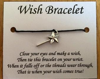 Fairy Wand Wish Bracelets