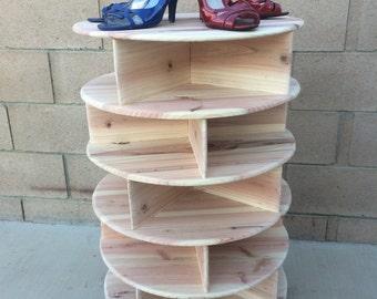 Spinning Shoe Rack/Carousel