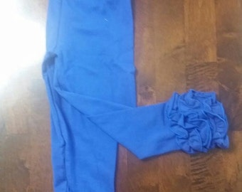 3t to 4t  royal blue Icing Leggings